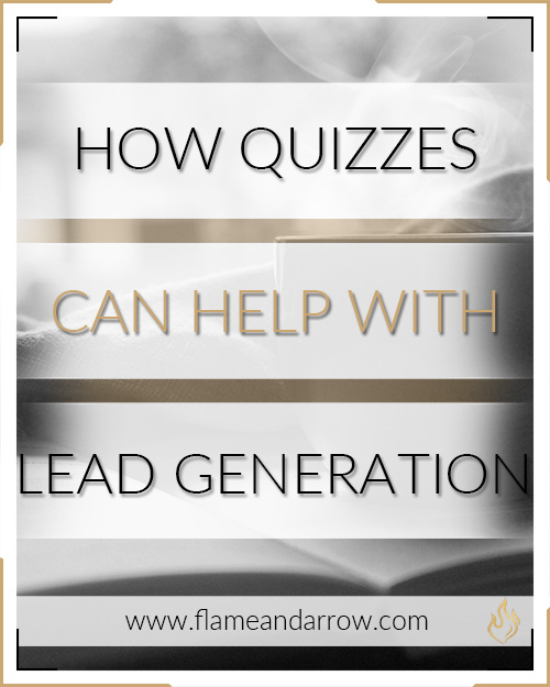 How quizzes can help with lead generation.