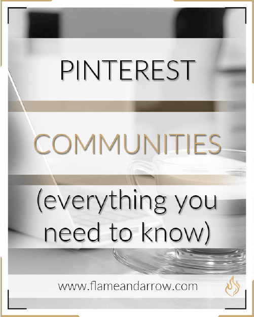 Pinterest Communities (everything you need to know)