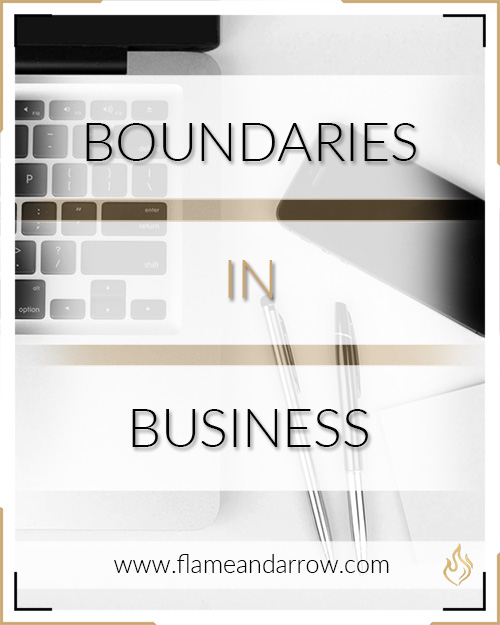 Setting Boundaries in Business