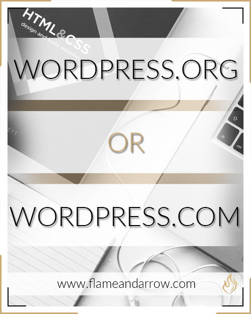 WordPress.org or WordPress.com?