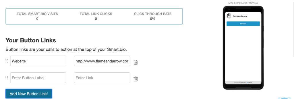 Smart.bio setup