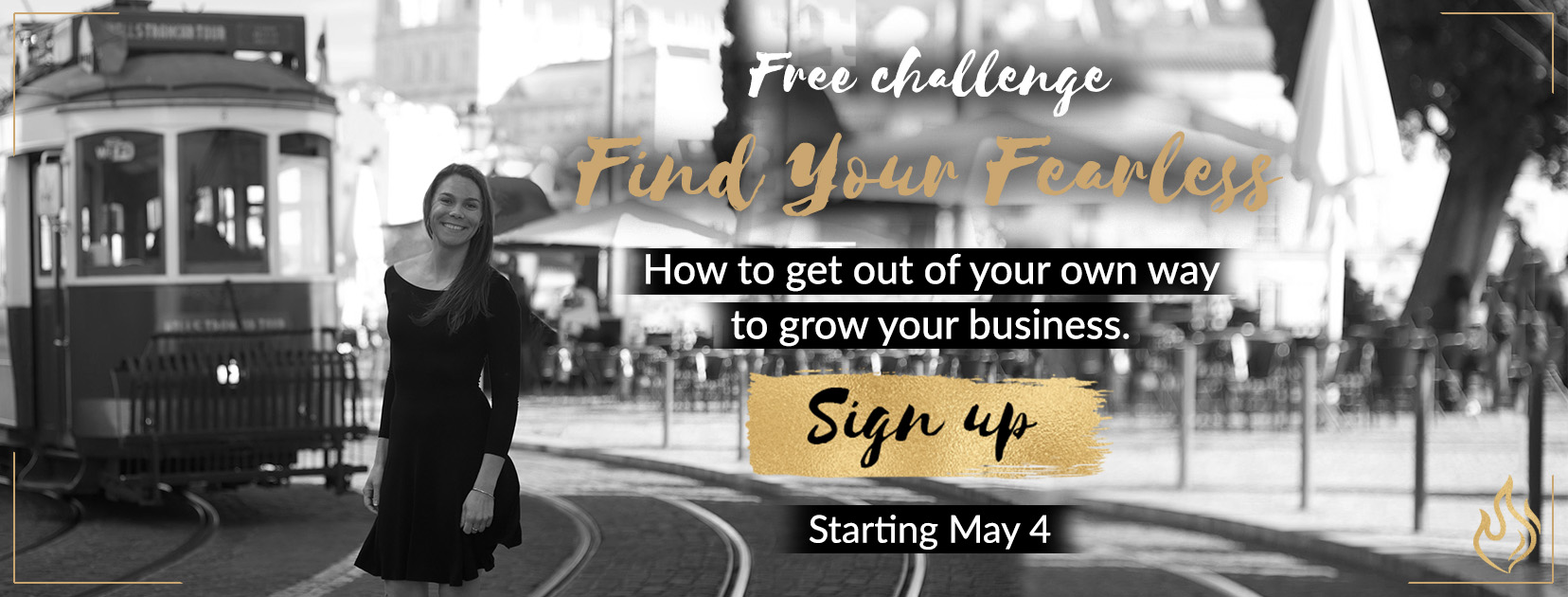 Find Your Fearless Challenge Sign Up